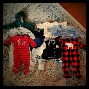 Lot of 6 month boys clothes